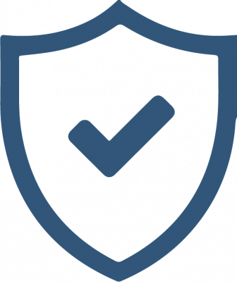 VoIP protection shield icon