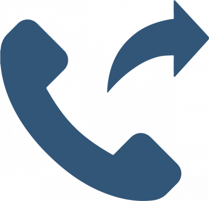 VoIP call forwarding icon