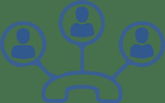 VoIP telecommunication icon