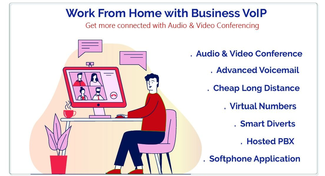 VoIP services for work from home people and business owners
